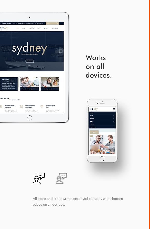 Sydney - Multiuse Financial Business WordPress Theme - 3